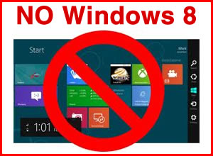 Before you buy a new computer – Stay away from Windows 8